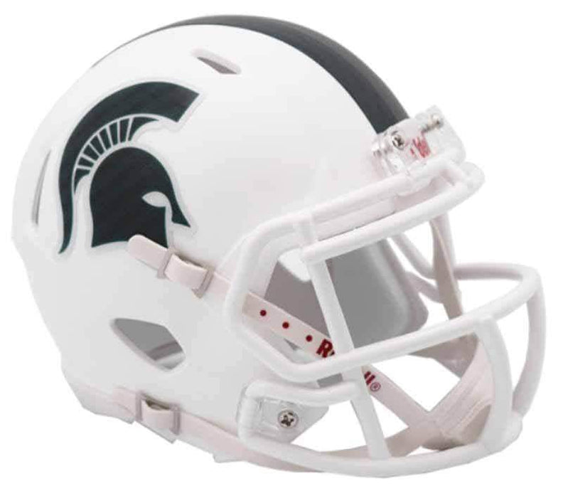 Unsigned Michigan State Riddell White SPEED Mini Helmet