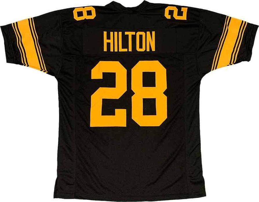 Unsigned Mike Hilton Pittsburgh Alternate Custom Stitched Football Jersey Size XL New No Brands/Logos