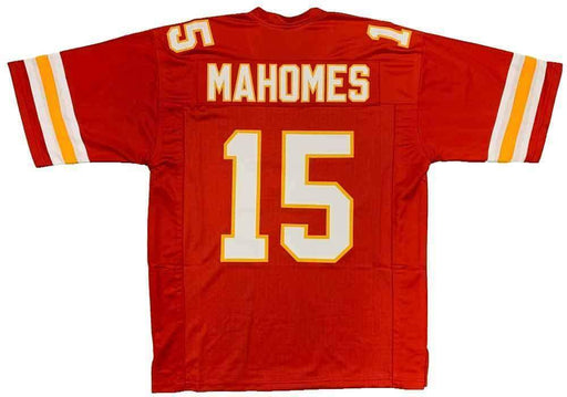 Unsigned Patrick Mahomes Kansas City Red Custom Stitched Football Jersey Size XL New No Brands/Logos
