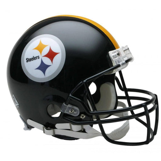 Unsigned Pittsburgh Steelers Full Size Replica Helmet - DAMAGED