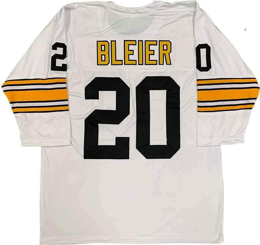 Unsigned Rocky Bleier Pittsburgh 3/4 Sleeve White Custom Stitched Football Jersey Size XL New No Brands/Logos