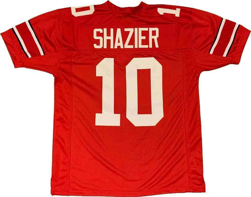 Unsigned Ryan Shazier OSU Red #10 Custom Stitched Football Jersey Size XL New No Brands/Logos