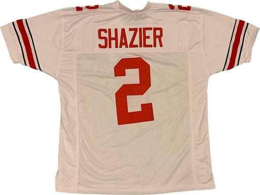 Unsigned Ryan Shazier OSU White #2 Custom Stitched Football Jersey Size XL New No Brands/Logos