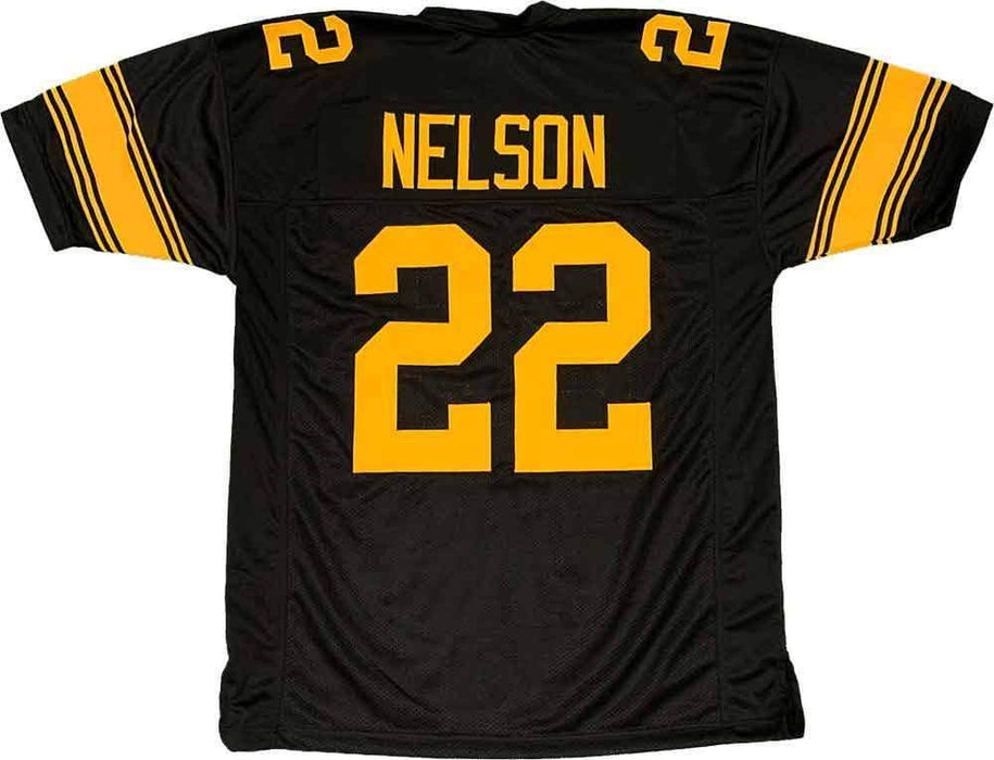 Unsigned Steven Nelson Pittsburgh Alternate Custom Stitched Football Jersey Size XL New No Brands/Logos