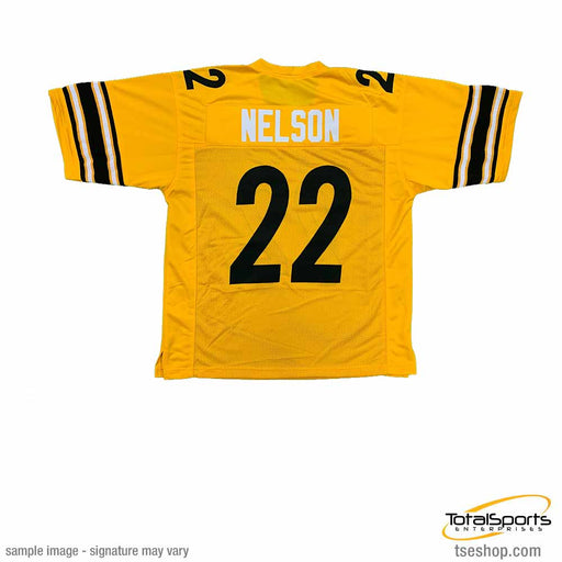 Unsigned Steven Nelson Pittsburgh Inverted Custom Stitched Football Jersey Size Xl New No Brands/Logos
