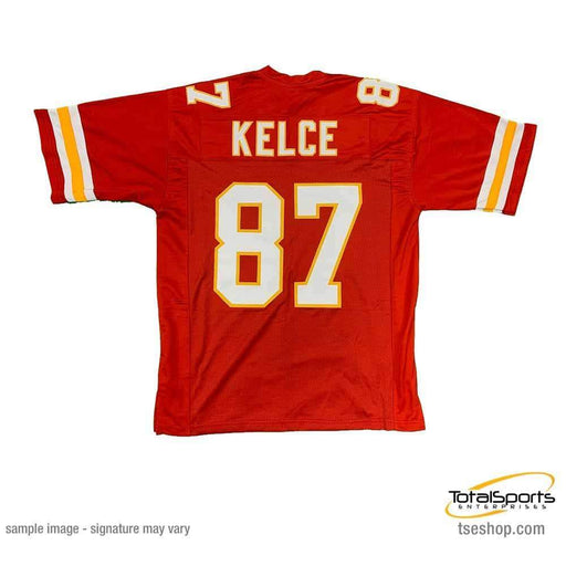 Unsigned Travis Kelce Kansas City Red Custom Stitched Football Jersey Size XL New No Brands/Logos