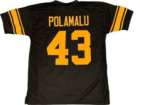 Unsigned Troy Polamalu Pittsburgh Alternate Custom Stitched Football Jersey Size XL New No Brands/Logos