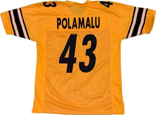 Unsigned Troy Polamalu Pittsburgh Reverse Custom Stitched Football Jersey Size XL New No Brands/Logos