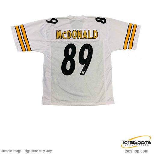 Vance Mcdonald Autographed White Custom Jersey