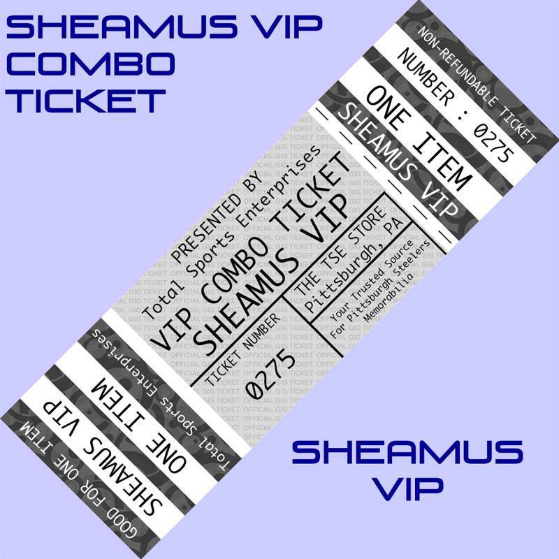 VIP COMBO TICKET: Get ANY ITEM OF YOURS Signed by and Posed Picture with Sheamus
