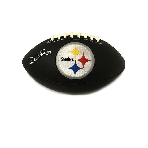 Willie Parker Signed Pittsburgh Steelers Black Matte Football