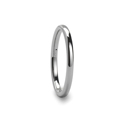 CHAPLIN Domed Tungsten Carbide Ring - 2 - 12 mm