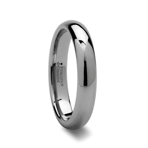 VENUS Domed Tungsten Carbide Ring - 4mm & 6mm