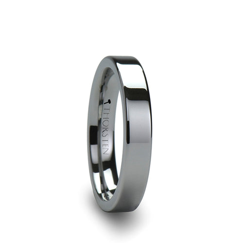 GRIFFIN Pipe Cut Tungsten Carbide Ring - 2mm - 12mm