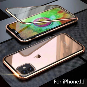 Double-sided Magnetic Absorption Metal Case for iPhone X/XS, iPhone Xs Max & iPhone XI - TOBS