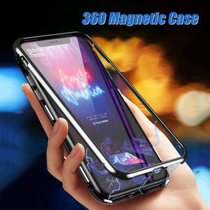 Magnetic 360 Protection Magnetic Cases for Smartphones