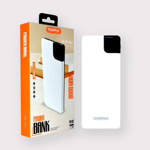Doomax PX-07 8000mAH Universal Power Bank FAST | STABLE | THIN - TOBS