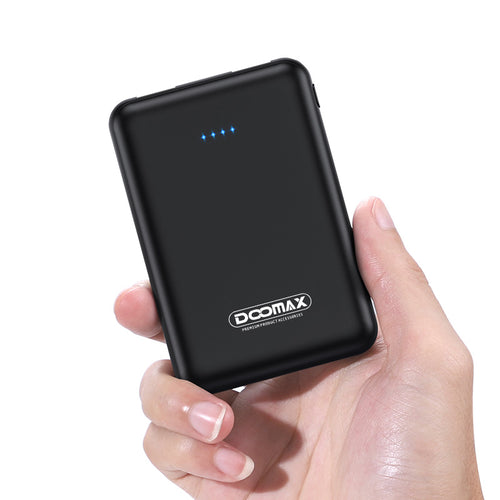 Doomax PX-08 5000 MAH Pocket Universal Power Bank - TOBS