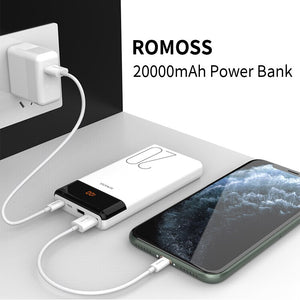 ROMOSS LT20 Power Bank 20000mAh