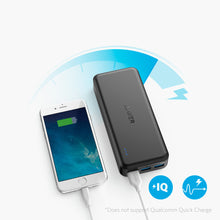 Load image into Gallery viewer, Anker A1273 PowerCore Elite 20000mAh Power Bank with 3 PowerIQ, 6A Output, Dual Input and 4A Fast Recharging - TOBS