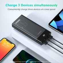 Load image into Gallery viewer, ROMOSS PPD20 50W Power Bank 20000mAh PD Fast Charge