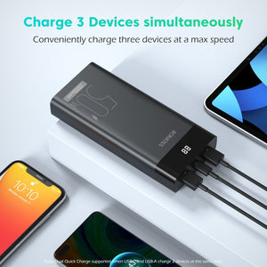 ROMOSS PPD20 50W Power Bank 20000mAh PD Fast Charge