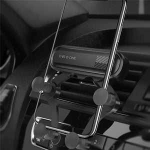 Car Mount Holder Dock, Universal Air Vent Dashboard Car Phone Holder Smaller but more Secure - TOBS