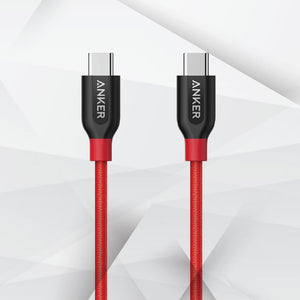 ANKER A8168 PowerLine+ 3ft USB-C to USB-C 2.0 - TOBS