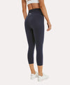 Walk And Talk High Waisted Capri Legging With Pocket