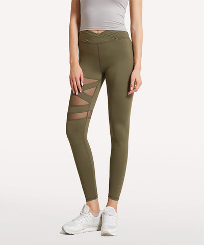 Muse Floriography Hydrangea Legging
