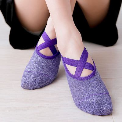 Stagger Galaxy Yoga Sock