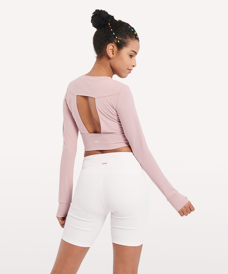 Muses Crop Long Sleeve