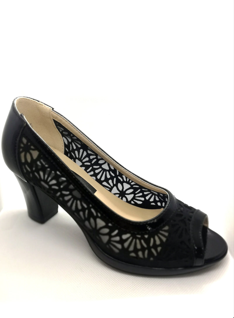 "SHOES decolette ""Ashley"" nera"