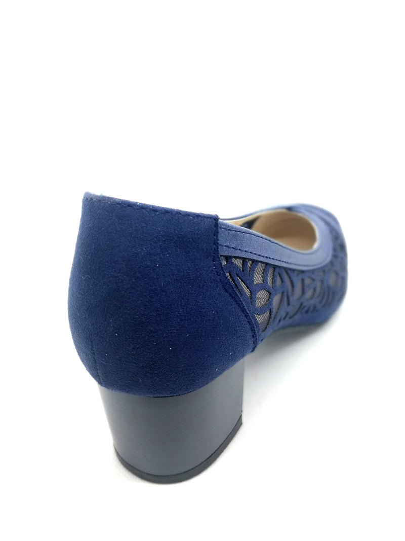 "SHOES decollete ""Hanna"" bluet"