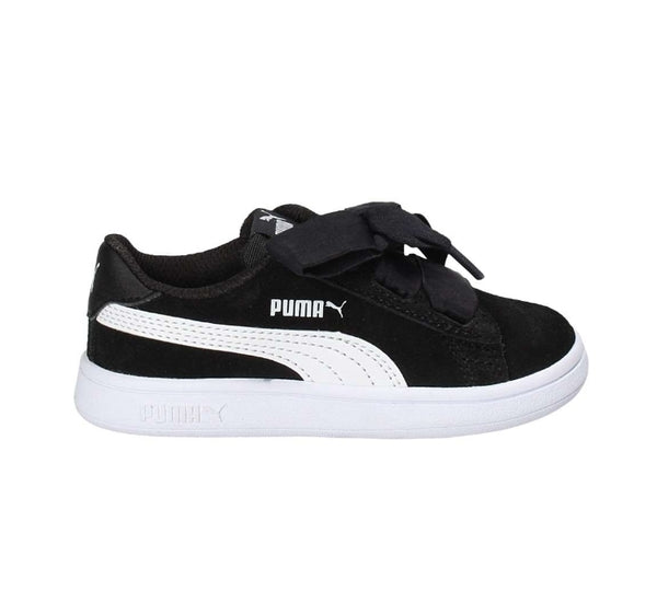 Puma Smash v2 Ribbon AC Inf ( Puma Black-Puma White)