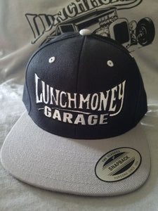 Black and Grey Lunch Money hat