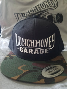 Black and Camo Lunch Money hat