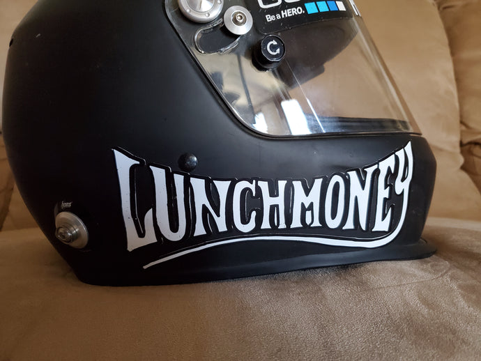 Lunch Money sticker