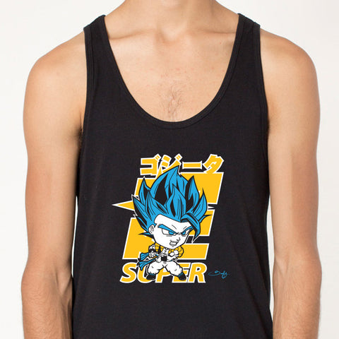 Super Saiyan Blue Gogeta Men's Tank