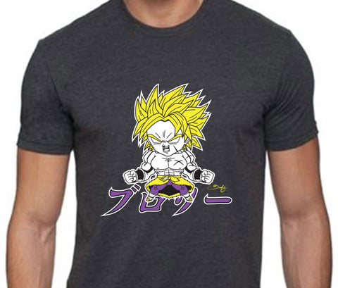 Broly Super Saiyan Men's Tee - Beefy & Co.