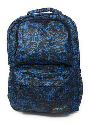 World of Poos The Commuter Backpack Midnight Blue - Beefy & Co.