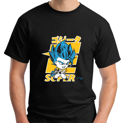 Super Saiyan Blue Gogeta Men's Tee - Beefy & Co.