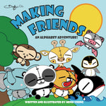 Making Friends - An Alphabet Adventure - Beefy & Co.
