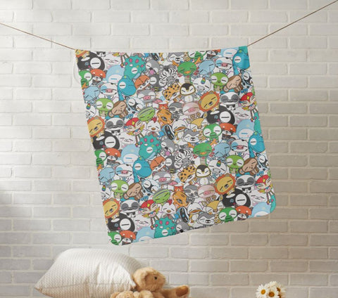 WOP Fleece Baby Blanket - Beefy & Co.