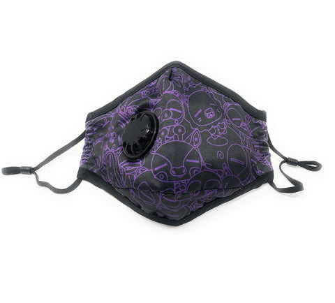 WOP Face Mask Midnight Purple - Beefy & Co.