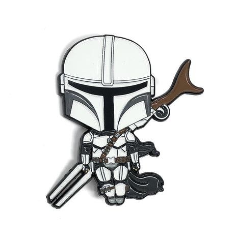 Mandalorian Pin - Beefy & Co.