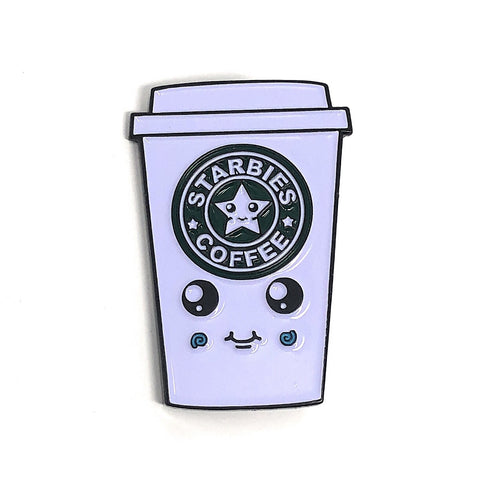 Starbies Coffee Pin - Beefy & Co.