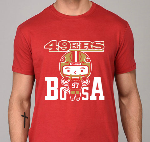 Bosa Niners Men's Tee - Beefy & Co.