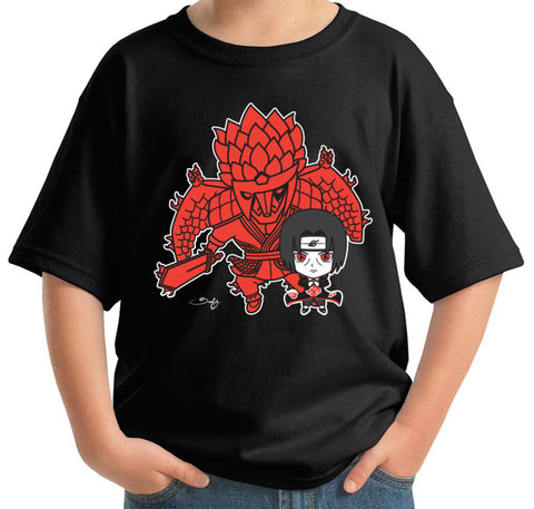Itachi and Susanoo Kids Tee - Beefy & Co.