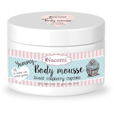 Body Mousse - Sweet rasperry cupcake - belleza.is
